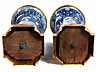 Detail images: Paar große Ormolu montierte Kangxi-Vasen