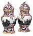 Detail images:  Paar Fürstenberger Potpourri-Vasen