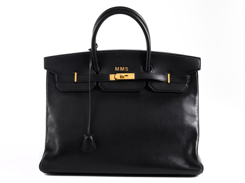 "Hermès Birkin Bag 40 cm ""Black"""