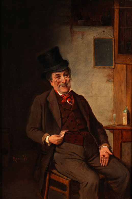 Hermann Kern, 1838 Liptóujvár - 1912 Maria Enzersdorf
