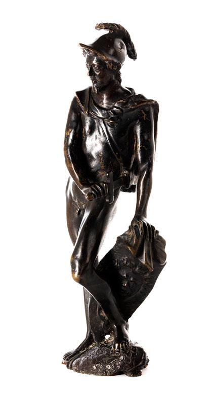 Bronzefigur des Kriegsgottes Mars