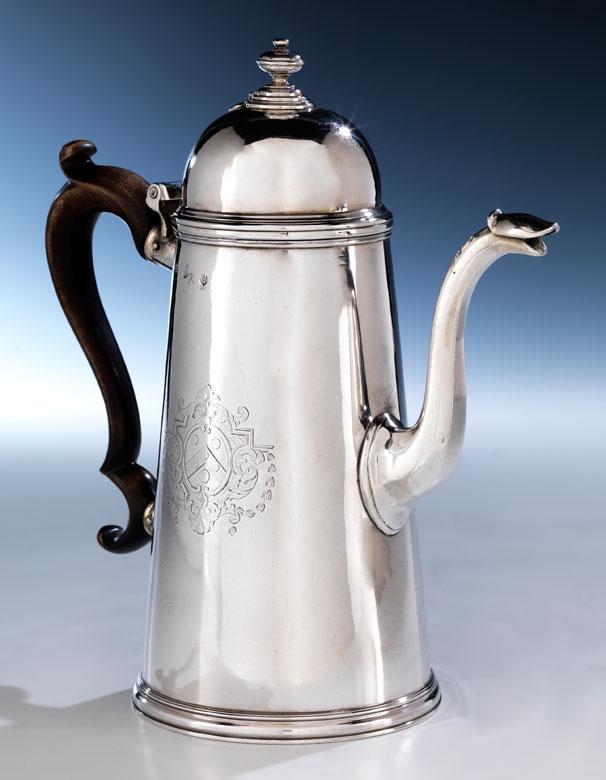 Londoner George I Kaffekanne