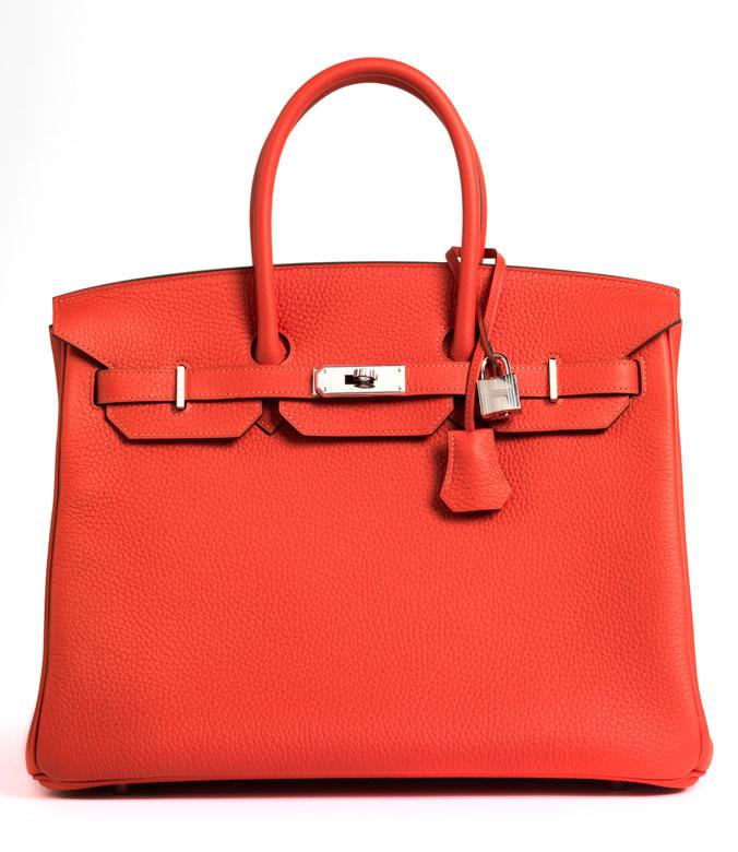 Hermès Birkin Bag 35 cm Rouge Pivoine