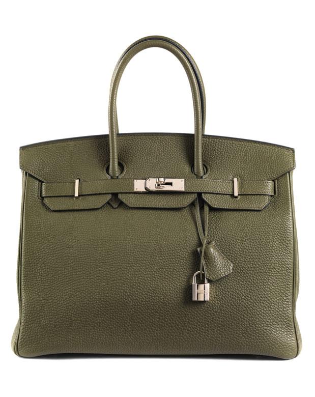 """† Hermès Birkin Bag 35 cm """"Vert Veronese"""""""