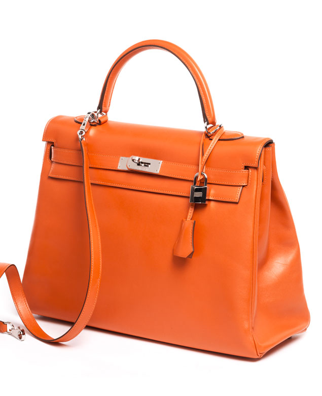 "† Hermès Kelly Bag 35 cm ""Feu"""