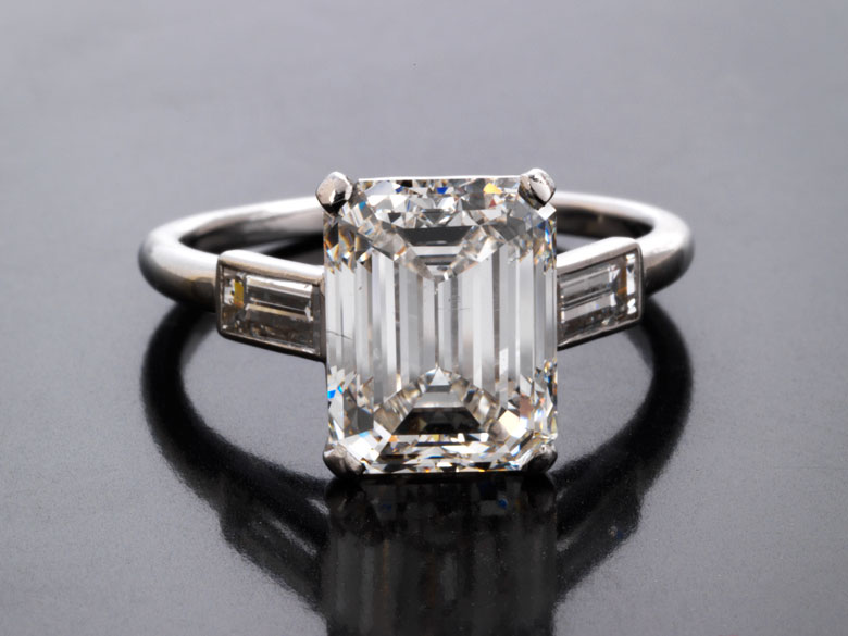 Diamantring von Cartier