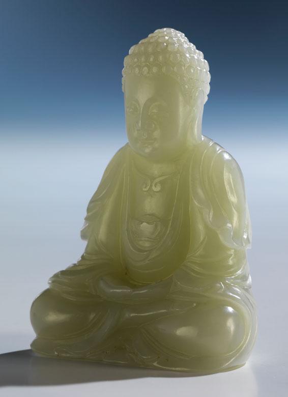 Kleiner Jade Buddha