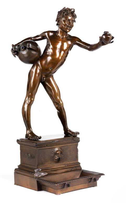 Vincenzo Gemito, 1852 Neapel - 1929 ebenda
