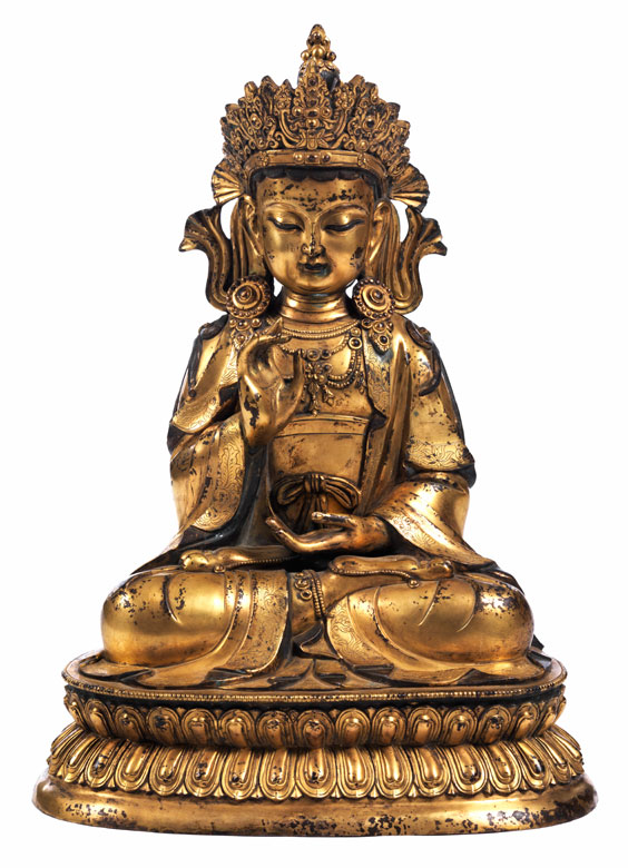 Große Figur des Shakyamuni