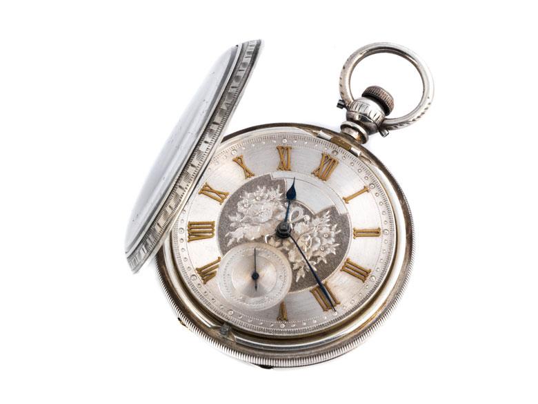 Große englische Taschenuhr