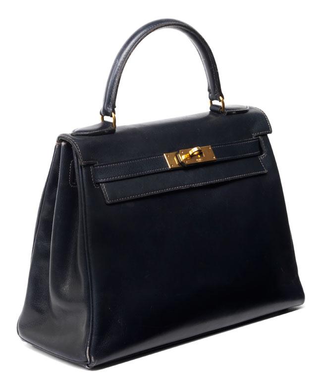 "† Hermès Kelly Bag 28 cm ""Black"""
