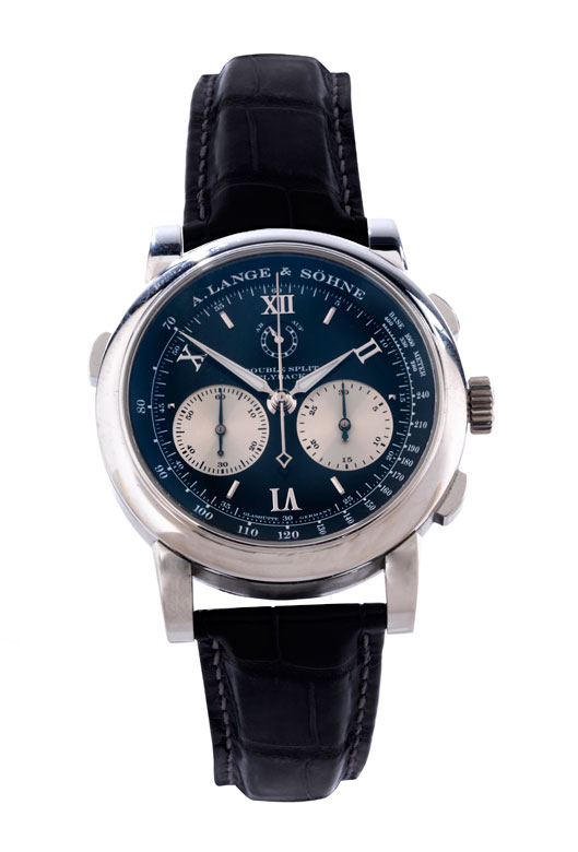 "A. LANGE & SÖHNE ""Double Split"" Chronograph in Platin"
