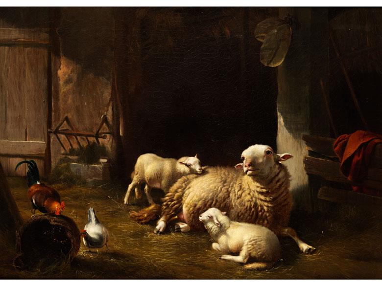 Eugène Verboeckhoven, 1798 Warneton - 1881 Brüssel, zug.