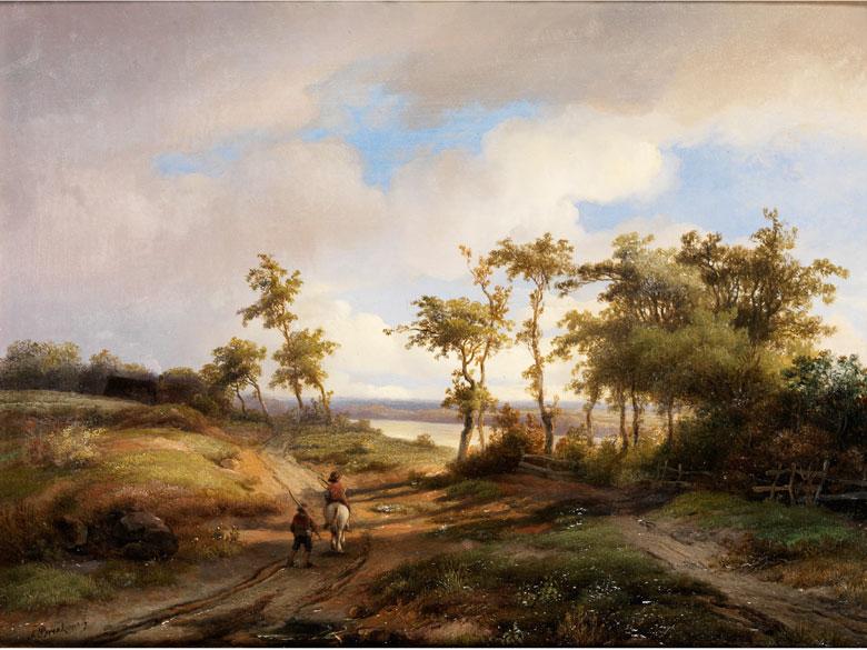 Anton Braakman, 1811 Rotterdam - 1879 Stuttgart
