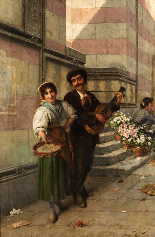 Theodor van der Beek, 1838 Kaiserswerth - 1921 Düsseldorf