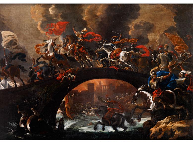 """Vincent Adriaenssen, gen. """"Il Manciola"""" oder """"Il Mozzo di Anversa"""", 1595 Antwerpen - 1675 Rom"""