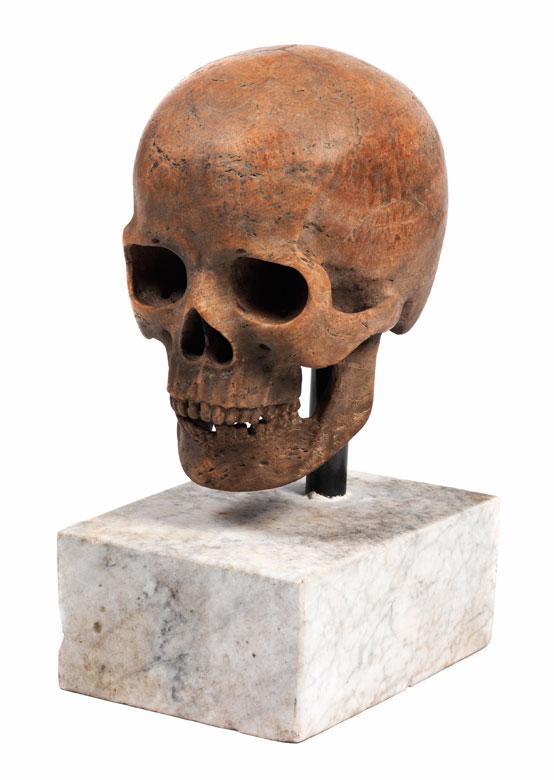 Memento mori-Totenschädel