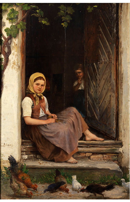 Carl von Blaas, 1815 Nauders - 1894 Wien
