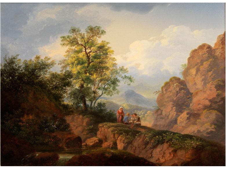 Karoly Marko d. Ä., 1793 - 1860 bei Florenz, Art des