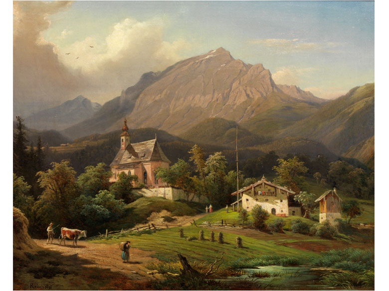 Franz Reinhold, 1816 - 1893