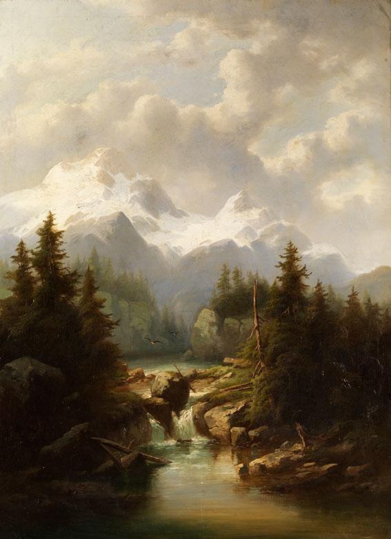Umkreis Anton Hansch, 1813 Wien - 1876 Salzburg