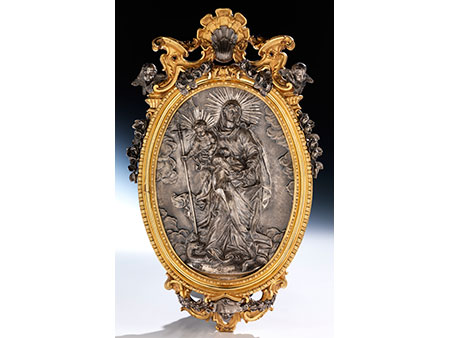 Bedeutendes römisches Silberrelief