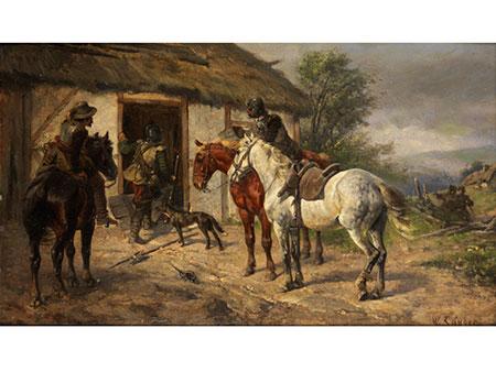Wilhelm Carl Räuber, 1849 Marienwerder - 1926 München
