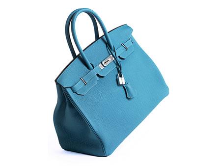 "Hermès Birkin Bag 35 cm ""Turquoise"""