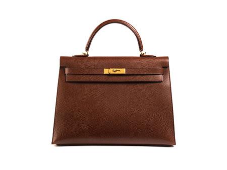 """† Hermès Kelly Bag 35 cm """"Havane"""""""
