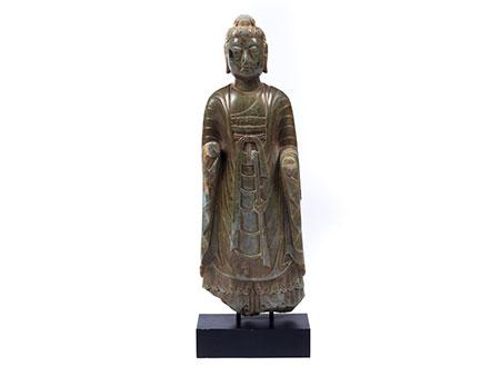 Stehender Jade Buddha