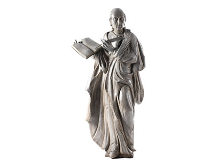 Standfigur des Arztes, Alchemisten und Philosophen Paracelsus