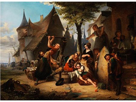 Jan David Col, 1822 Antwerpen - 1900