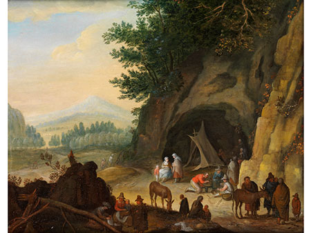 Joseph van Bredael,  1688 Antwerpen - 1739 Paris, Umkreis