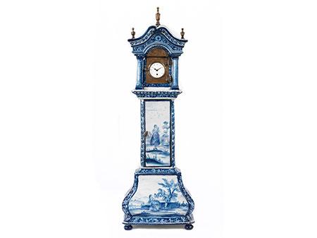 Feine Delfter Uhr