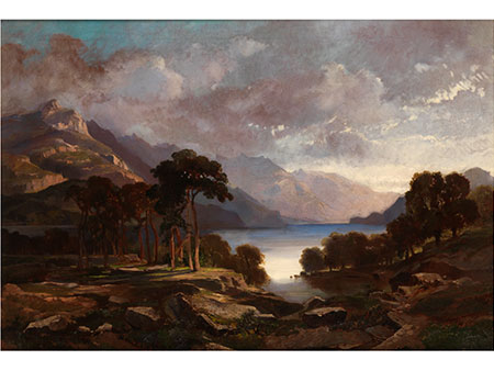 Carl Anton Joseph Rottmann, 1797 - 1850, zug.