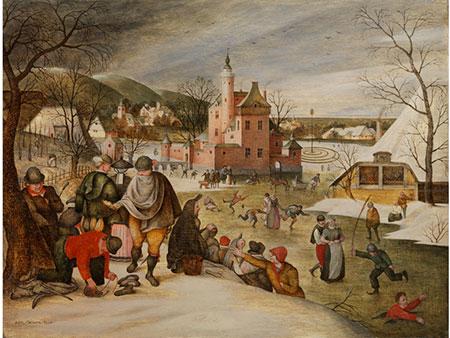 Abel Grimmer (Grimmaert), um 1570 - um 1619 Antwerpen