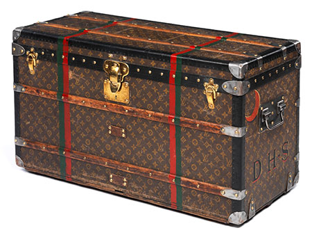 "Louis Vuitton Überseekoffer ""Courrier Trunk"""