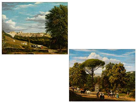 Jacob Philipp Hackert, 1737 Prenzlau - 1807 San Piero a Careggi, Florenz, zug.