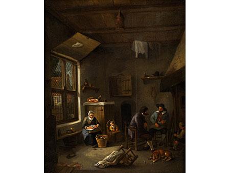 Adriaen van Ostade, 1610 Haarlem - 1685 ebenda, zug.