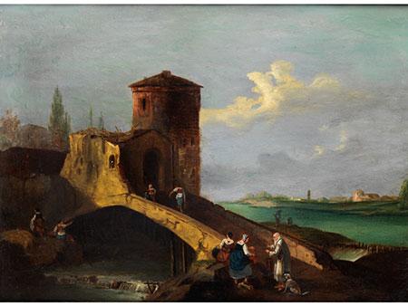 Giovanni Battista Cimaroli, 1687 Saló - ca. 1753 Venedig, in der Art des