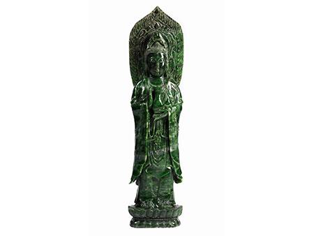 Jadefigur einer Guanyin