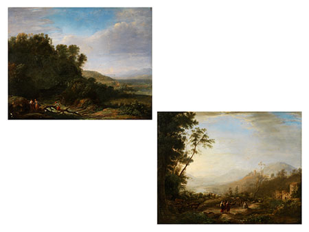 Französischer Maler in der Stilnachfolge von Claude de Lorrain, 1600 - 1682