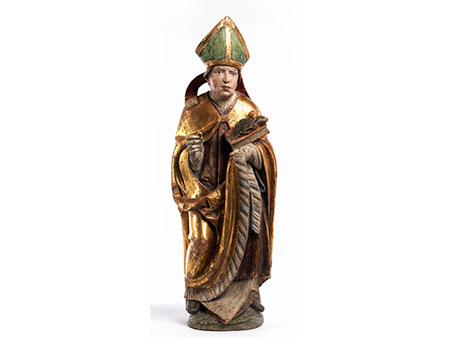 Skulptur des Heiligen Ulrich