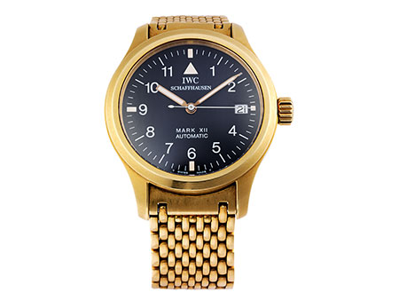"IWC ""Mark XII"" in Gold mit Band"