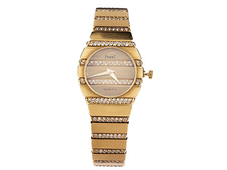 Damen PIAGET in Gold mit Brillanten
