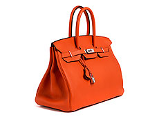 "Hermès Birkin Bag 35 cm ""Feu Orange"""