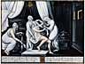 Detail images: Limoges-Email Bildtafel mit Darstellung der Toilette der Venus