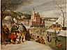 Detailabbildung: Abel Grimmer (Grimmaert), um 1570 - um 1619 Antwerpen