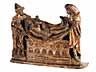 """Detail images:  Schnitzfigurengruppe """"Grablegung Christi"""""""