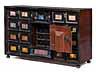 Detail images:  Kabinettkasten mit Pietra dura-Einlagen